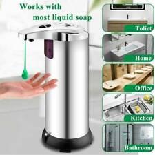 Automatic Touchless Soap Liquid Dispenser IR Sensor Hand Wash Bathroom Kitchen