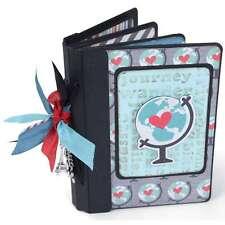 """Sizzix ScoreBoards XL Die 6""""X13.75"""" Passport Book 841182092250"""