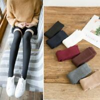 Girls Ladies Warm Thigh High Over the Knee Socks Women Long Cotton Stockings New