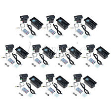 10sets Belcat 4 Band Piezo Preamp EQ Pikcup LCD Tuner For Slim Body Guitar