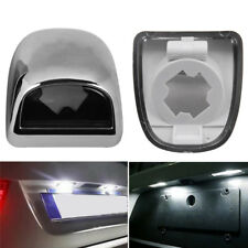 2x Rear Bumper License Plate Lights Lens For Chevy/GMC/ Cadillac Pickup 15049281