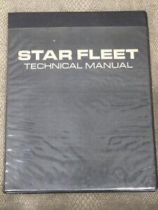Star Trek Star Fleet Technical Manual - First Edition 1975 - Franz Joseph