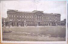 Vintage Postcard Buckingham Palace London England Uk Shoes Slippers Matte 1923