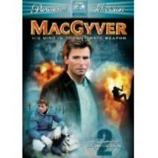 MacGyver: The Complete Second Season 2nd 6-Disc Set Dvd Video Movie secret agent