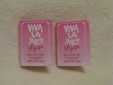 Juicy Couture 'Viva La Juicy Rose' EDP Perfume Spray Sample Vial Set of 2 - NEW