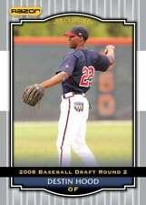 2008 Razor Signature Series Silver #38 Destin Hood Nationals (Prospect / RC - Ro