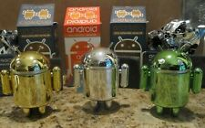 Android Mini Collectible Figures: Series 4 & 5 (3 pcs.) - Chrome Set by Google
