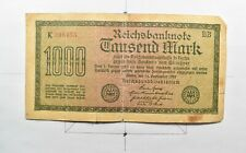 CrazieM World Bank Note - 1922 Germany 1000 Mark - Collection Lot m697