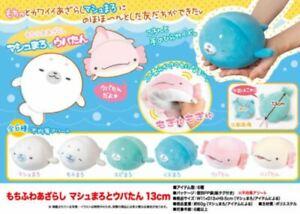 Japan Import Mochi Mochi Seal Axolotl Ultra Soft Squishy Plush Kawaii Cute Doll