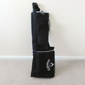 Callaway Golf Pencil Bag New with Tags Black/White NWT