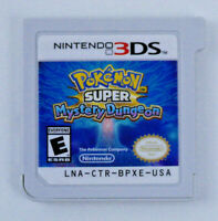 Pokemon Super Mystery Dungeon Nintendo 3DS Authentic Cartridge Only