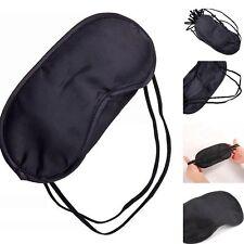 Schwarz Schlafbrille Augenmaske Reise·Schlafmaske Schatten Augenbinde Sleep·Mask