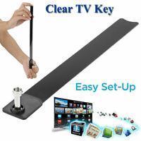 Klare TV-Schlüsselantenne 1080p HD Digital-TV-Signalantenne 100+ kostenlose