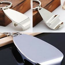 Fashion Personalised Chrome Bottle Opener Keyring Keychain 65*13*4MM Brewery HOT