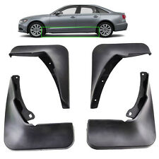 FRONT&REAR MOLDED MUDFLAPS FIT FOR AUDI A6 (C7) 2011>2015 MUD FLAP SPLASH GUARDS