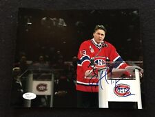 PATRICK ROY Signed MONTREAL CANADIANS 8x10 Photo - JSA COA GORGEOUS HOF!