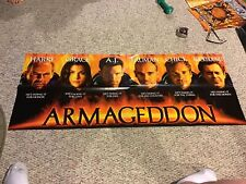 Armageddon Movie Poster 51x21