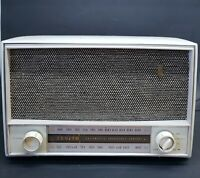 Vintage Zenith L724 AM FM Radio 1950's WORKING!