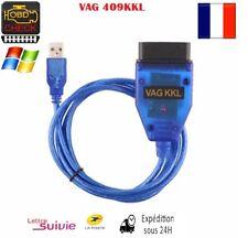 VAG 409.1 KKL OBD2  interface de Diagnostic cable usb pour Audi Volkswagen, Seat