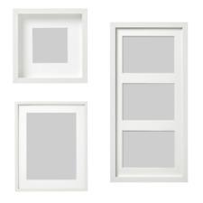 IKEA RIBBA Bilderrahmen weiß Passepartout Fotorahmen Arten tiefen Rahmen NEU