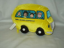 "Mary Meyer GIRL SCOUT EXPRESS 9"" x 7"" Bus & Finger Puppet play set 2000 ADORABLE"