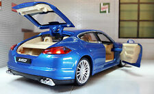 G LGB 1:24 Scale Porsche Panamera S V8 Working Lights Sound Diecast Model Car