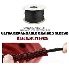 Flexible Expanding Wire Cable Sleeve Harness Sheath - Messy Cable Sleeve Manager