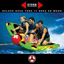 "WoW BIg Bazooka Deluxe Steer 74 x 70"" -  4 Person Ski Tube"