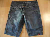 EDC by ESPRIT DENIM coole Jeans Shorts Gr. 27 NEUw. HL216