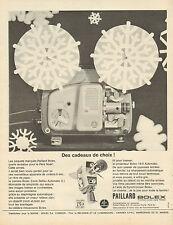 Publicité Advertising 1964  Projecteur PAILLARD BOLEX 18-5 Automatic