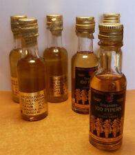 Mignon Seagram's 100 Pipers da collezione - 40° 28cc Perfettamente sigillate