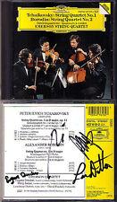 Emerson String Quartet SIGNED Borodin no. 2 Tchaikovsky no. 1 CD Quartetto