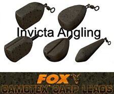 Brand New Fox Camotex Leads Packs of 3 - All Sizes / Types Available