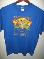 Sierra Nevada Brewing Company Beer Chico California USA Ale Porter T Shirt Large