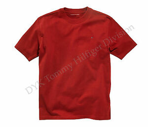 Tommy Hilfiger Children Big Boy Nantucket Tee T-Shirt Red - Free $0 Shipping