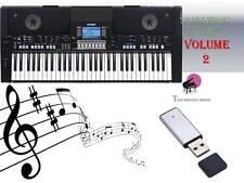 PSR S650 S670 USB-Stick + Amazing Song styles Volume 2 NEUF