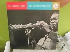 JOHN COLTRANE LP RECORD IMPRESSIONS IMPULSE/ABC LABEL