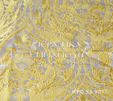 Church Liturgical Vestment Brocade Metallic 155cm - 61'' wide IERO 53 101