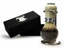 Classic Design Brush Silver tip Synthetic Shaving Brush Suitable 4 all skin type