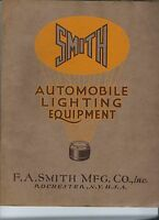 NE-067 - 1925 Smith Automobile Lighting Equipment Catalog, Illustrated RARE Vase