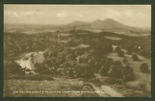 Sir Walter Scott's Favourite View from Bemersyde Hill - Valentine's Postcard