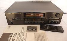 DAT Recorder Onkyo DT-901 top Zustand mit FB und Tape, rare w remote and tape
