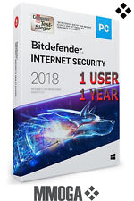 Bitdefender Internet Security 2018 1 Gerät / 1 Jahr Multi-Device - DIGITAL CODE