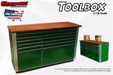 The Green Toolbox 1/18 Scale Diorama (Handmade Accessory)