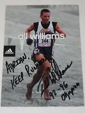 All Williams hand signed autograph Addidas Photo