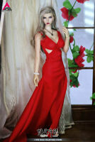 JIAOU Doll 1/6 Angel Yan Beauty Girl Female Figure Set White&Red Dress Ver.