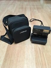 Polaroid One Step Close Up 600 Instant Film Camera With Strap AND Carrying Case