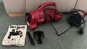 DIRT DEVIL HANDY ZIP 150Z PLUS HAND HELD VACUUM CLEANER With Instruction Manual