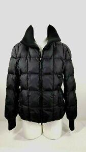 Tommy Hilfiger US Ski Team Jacket Womens Medium Spyder 2013 Black Puffy Coat