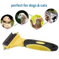 Pettine per dematting del cane, spazzola per toelettatura per animali domestici